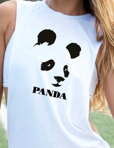 PANDA Graphic Tee Completely Customizable by trendsettersrepublic