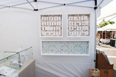 Another peek at those pretty boxes! {craft booth setup}