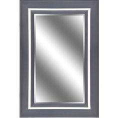 Found it at Wayfair - Reflection Bevel Wall Mirror