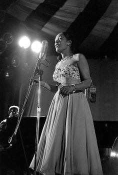 While Billie Holiday's short life was filled with hardship, Jerry Dantzic documented not the tragic torch singer of myth but a middle-aged woman finding simple comforts from the maelstrom.