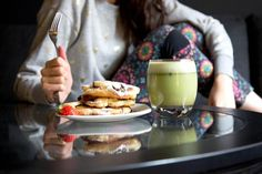 Chocolate Chip Raspberry Pancake Recipe