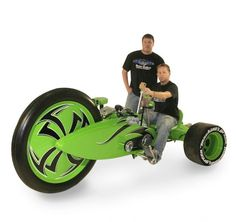 "My Big Wheel was my favorite as a kid.  How cool would this ""big boy toy"" (well girl) be!!!"
