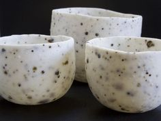 Porcelain and volcanic ash