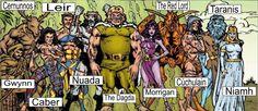 Tuatha Da Danaan (Celtic Gods)