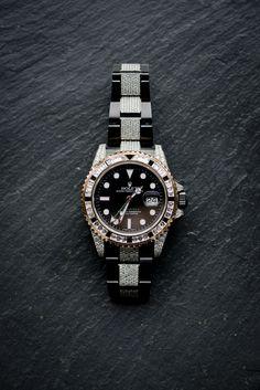 Patek Philippe, Black Rolex, Diamond Ice, Rolex Gmt Master, Rolex Watches, Label, Accessories