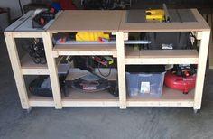 Budget mobile workstation - by Miketw @ LumberJocks.com ~ woodworking community