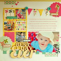 Best Day Ever by Ginger Williams for My Creative Scrapbook Kits