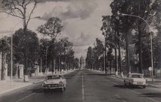Norodom Boulevard and Independence Monument in Phnom Penh, Kampong Cham, First Indochina War, Battambang, Kampot, Indochine, National Theatre, Phnom Penh, Angkor Wat, Historical Pictures