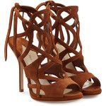 Paul Andrew Ella Suede Sandals