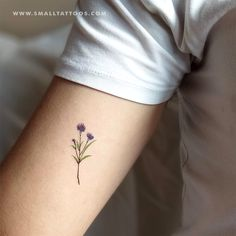Cornflower Temporary Tattoo by Zihee (Set of to make temporary tattoo crafts ink tattoo tattoo diy tattoo stickers