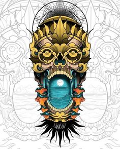 Ideas Design Logo Japan Inspiration For 2019 Old Tattoos, Body Art Tattoos, Tattoo Sketches, Tattoo Drawings, Neotraditional Tattoo, Chicano Tattoos Sleeve, Lamp Tattoo, Detailed Coloring Pages, Old School Tattoo Designs
