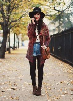 Shorts im Herbst tragen? So geht's!