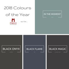 how important will black be in interiors in 2018? | @meccinteriors | design bites | #2018COTY #2018ColourTrends #2018Trends