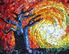Baobab Tree Mosaics, beautiful handmade and bespoke mosaic designs. Mosaic Crafts, Mosaic Projects, Mosaic Ideas, Diy Projects, Tree Patterns, Mosaic Patterns, African Sunset, Baobab Tree, Mosaic Madness