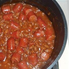 Beanie Weenie Recipe In 2019 Food Crockpot Recipes