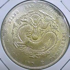 China 1900 Kiangnan golden dragon dollar