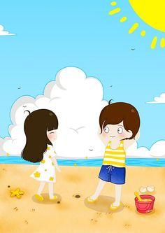 how to drawings Cute Chibi Couple, Love Cartoon Couple, Cute Love Cartoons, Anime Love Couple, Chibi Wallpaper, Cute Panda Wallpaper, Cute Couple Wallpaper, Cartoon Photo, Cartoon Clip