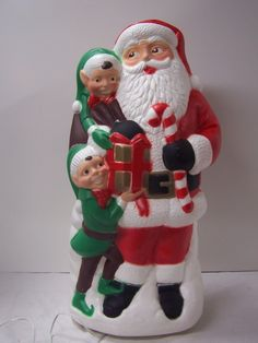 TPI Santa with 2 elves blow mold