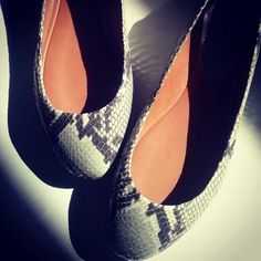 Python flat, good choice! Gianna Meliani fw'13