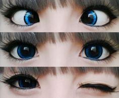 blue circle lenses - Google Search