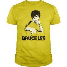 Bruce Lee - Splatter - #blue shirt #formal shirt. I WANT THIS => https://www.sunfrog.com/Movies/Bruce-Lee--Splatter-Yellow-Guys.html?68278