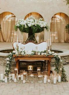 Wedding ideas, read these top post plan 4531952806 for one memorable occcasion. Indoor Wedding Receptions, Rustic Wedding Venues, Wedding Altars, Burlap Lace Table Runner, Airbnb Wedding, Sweetheart Table Decor, Laid Back Wedding, Wedding Decorations, Table Decorations