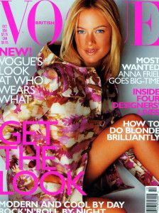 Carolyn Murphy by Mario Testino Vogue UK October 1999