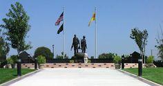 The Vietnam War Memorial in Westminster, Calif.