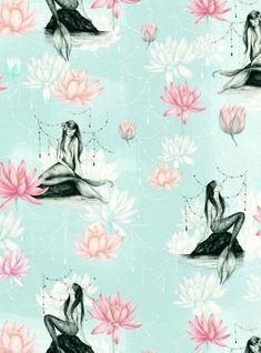 Pin by gaby king on mermaids иллюстрации, художественное пор Fantasy Mermaids, Unicorns And Mermaids, Mermaids And Mermen, Mermaid Wallpapers, Cute Wallpapers, Wallpaper Backgrounds, Iphone Wallpapers, Mermaid Board, Mermaid Pictures