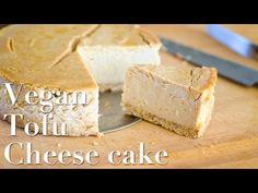 Vegan tofu cheese cake ☆ 豆腐のチーズケーキ - YouTube