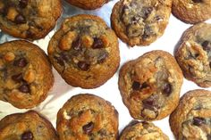 Chocolate Chip, Peanut Butter Chip and Pretzel Cookies... the perfect combination of salty and sweet!