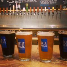 Blue Blaze Brewery...love their beer!  Grand Opening 6/25/16