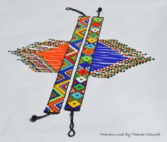 We specialise in African handmade intricate bold statement jewellery pieces & accessories. Diy Necklace Patterns, Beaded Bracelet Patterns, African Necklace, African Jewelry, Loom Patterns, Beading Patterns, Bead Jewellery, Beaded Jewelry, African Crafts