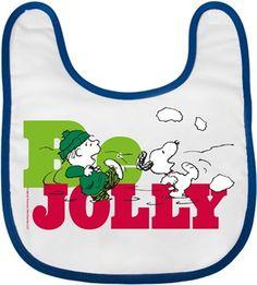 Snoopy Be Jolly Kendin Tasarla - Bebek Önlüğü