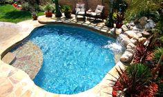 spa pool spool | Spool with waterfall