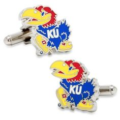 Kansas University Cufflinks - BedBathandBeyond.com