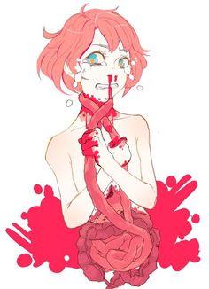 Bloody anime girl Guro                                                                                                                                                     More
