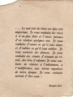 Jacques Brel, né le 8 avril 1929 à Schaerbeek, une commune de Bruxelles…