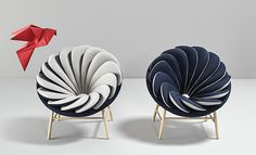 http://theinspirationgrid.com/a-chair-inspired-by-feathers-quetzal-by-marc-venot/