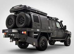 Burly adventure camper is prepped to go off-grid - Curbedclockmenumore-arrow : It even comes with a dog crate