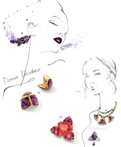 By yohanna design jewelry wholesale - Swarovski® Elements Fashion Trends: Fall/Winter 2014/2015-25