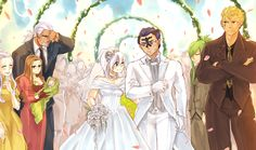 Bixanna's marriage!!! Look at ElfGreen's baby...but I think that Miraxus should be staring at each other...and Freed should be staring at Laxus...just saying (;