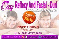 Kawan-kawan Oxy Bukit Duri  relaksasi pijat refleksi dan perawatan facial dengan terapist terdidik dan berpengalaman ayo datang ke Oxy family Reflexy dan facial cabang di Jl. Jendral Sudirman No. 558 - Duri atau hubungi 0822-2777 0005 dan dapatkan discount 50% selama Happy Hour(9:30-14:00), Senin-Jumat .  #oxyreflexyduri #oxyfamilyrefleksi #bukitduri #refleksi #facial #promo #newyear2018