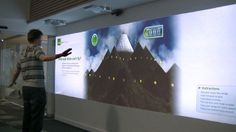 Kiwibank Interactive Wall   2011 by Lumen Digital. The Kiwibank wall is a great example of Lumen's ability to deliver a compelling user experience using OpenNI technology. The Kiwibank wall utilises hand and arm gestures and full body tracking, allowing multiple users to engage in a range of interactive activities – but this is only a taste of the technologies potential.
