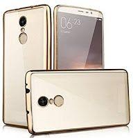 Cell-loid Transperant back cover for Lenovo K6 Power- gold // Transparent