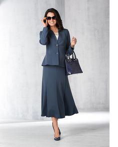 Italian Stretch Wool Blend Crepe Jacket