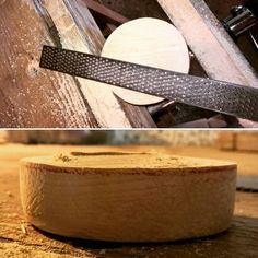 We cut the wood with the saw and with the rasp we cleaned the top and the sides of the ashtray. #craft #bushcraft #traditional #greenwood #woodenspoon #handtools #handcrafted #woodcarving #handmade #rustic #woodcraft #ashtray