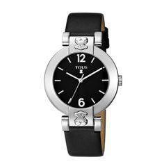 Zegarek Tous Plate Round czarny