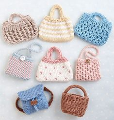 Ravelry: Toy bags pattern by Julie Williams