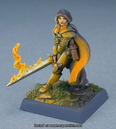 Reaper Miniatures - Neat Fire Effect